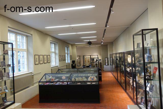 Anatomische Sammlung: Ausstellungsraum